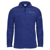 Columbia Full Zip Royal Fleece Jacket-Hospice of Virgina