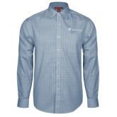 Red House Light Blue Plaid Long Sleeve Shirt-Hospice Partners