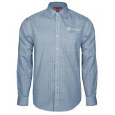 Red House Light Blue Plaid Long Sleeve Shirt-Alamo Hospice