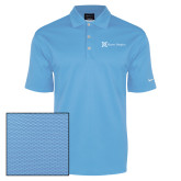 Nike Dri Fit Light Blue Pebble Texture Sport Shirt-Alamo Hospice