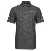 Nike Dri Fit Charcoal Embossed Polo-Hospice Partners