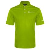 Nike Golf Dri Fit Vibrant Green Micro Pique Polo-Hospice Partners