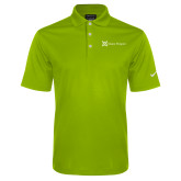 Nike Golf Dri Fit Vibrant Green Micro Pique Polo-Alamo Hospice