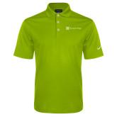Nike Golf Dri Fit Vibrant Green Micro Pique Polo-Harrisons Hope