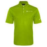 Nike Golf Dri Fit Vibrant Green Micro Pique Polo-Hospice of Virgina