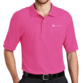 Tropical Pink Easycare Pique Polo-Alamo Hospice