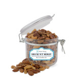 Deluxe Nut Medley Small Round Canister-Hospice Partners of America