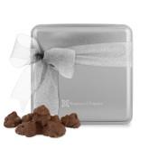 Decadent Chocolate Clusters Silver Medium Tin-Hospice of Virgina  Engraved