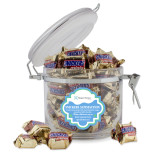Snickers Satisfaction Round Canister-Hospice Partners of America