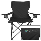 Deluxe Black Captains Chair-Hospice Partners of America