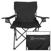 Deluxe Black Captains Chair-Serenity Hospice - Tagline
