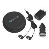 3 in 1 Black Audio Travel Kit-Hospice Partners