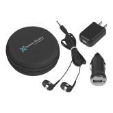 3 in 1 Black Audio Travel Kit-Serenity Hospice