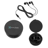 Ear Buds in Black Case-Serenity Hospice