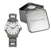 Mens Stainless Steel Fashion Watch-Hospice of Virginia