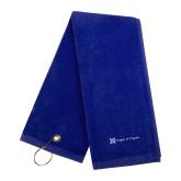 Royal Golf Towel-Hospice of Virgina