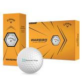 Callaway Warbird Golf Balls 12/pkg-Harrisons Hope