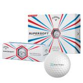 Callaway Supersoft Golf Balls 12/pkg-Alamo Hospice
