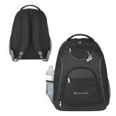 The Ultimate Black Computer Backpack-Hospice of Virgina