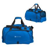 Challenger Team Royal Sport Bag-Hospice of Virgina