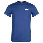 Royal T Shirt-Primary Athletics Mark