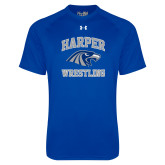 Under Armour Royal Tech Tee-Wrestling