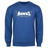 Royal Fleece Crew-Hawks