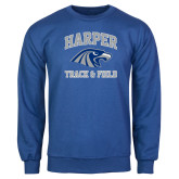 Royal Fleece Crew-Track and Field