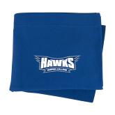 Royal Sweatshirt Blanket-Hawks