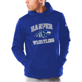 Under Armour Royal Armour Fleece Hoodie-Wrestling