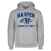 Grey Fleece Hoodie-Campus