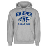 Grey Fleece Hoodie-Gaming