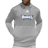Adidas Grey Team Issue Hoodie-Hawks