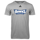 Adidas Climalite Sport Grey Ultimate Performance Tee-Hawks