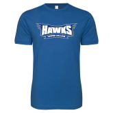 Next Level SoftStyle Royal T Shirt-Hawks