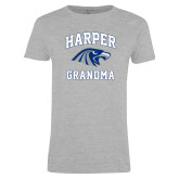 Ladies Grey T Shirt-Grandma
