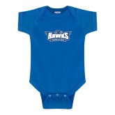 Royal Infant Onesie-Primary Athletics Mark