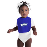 Royal Baby Bib-Primary Athletics Mark