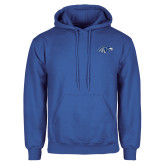 Royal Fleece Hoodie-Hawk Head