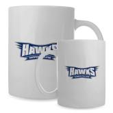 Full Color White Mug 15oz-Hawks
