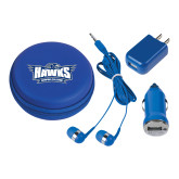 3 in 1 Royal Audio Travel Kit-Primary Athletics Mark