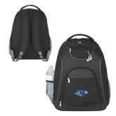The Ultimate Black Computer Backpack-Hawk Head