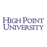 Large Decal-Stacked High Point University, 12 in W