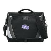 Slope Black/Grey Compu Messenger Bag-HPU