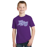 Youth Purple T Shirt-HPU