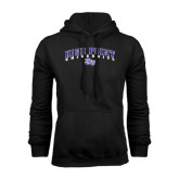 Black Fleece Hoodie-Arched High Point University