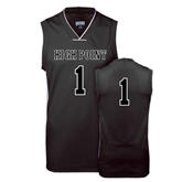 Replica Black Adult Basketball Jersey-Mens #1