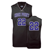 Replica Black Adult Basketball Jersey-Womens #22