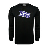 Black Long Sleeve TShirt-HPU