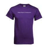 Purple T Shirt-High Point University